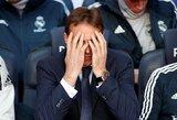 """Subtilios Ispanijos taisyklės: """"Real"""" turi dvi savaites susirasti naują trenerį"""