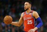 """""""Jazz"""" naujokui patiko B.Simmonsui skirta """"Celtics"""" sirgalių skanduotė"""