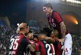 """Dviejų įvarčių pranašumą iššvaisčiusi """"Bologna"""" namuose susitvarkė su """"Napoli"""""""