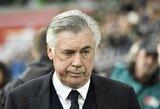 """C.Ancelotti: """"Jeigu būčiau PSG treneriu, jau seniai būčiau nušokęs nuo tilto"""""""