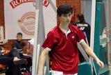 Badmintonininkas A.Plavinas Airijoje patiesė turnyro favoritą