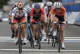 Pasaulio plento dviračių čempionato grupinėse lenktynėse abi lietuvės finišavo greta
