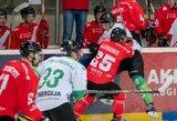 """Agresyviu žaidimu trečiame kėlinyje pažymėtame mače – įtikinama """"Energijos"""" pergalė prieš """"Kaunas Hockey"""""""