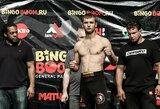 Po ilgos pertraukos grįžtantis M.Veržbickas kovos Čečėnijoje neįprastoje svorio kategorijoje