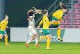 Lietuvaitės praleido 9 įvarčius