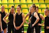 Aštuoniolikmetės pradėjo pasiruošimą Europos krepšinio čempionatui