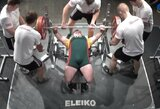 Lietuviai skynė medalius Europos jėgos trikovės ir štangos spaudimo taurės varžybose