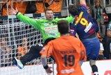 EHF Čempionų lygoje – apmaudus A.Vaškevičiaus ekipos pralaimėjimas
