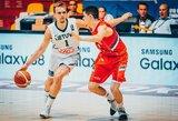 A.Velička pateko į geriausių krepšininkų penketuką