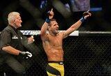 Į naują svorio kategoriją perėjęs buvęs UFC čempionas R.dos Anjosas prisiminė pergalės skonį