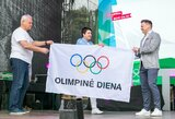 Rekordinė Klaipėda Olimpinės dienos estafetę perdavė Vilniui