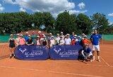 Geriausi Lietuvos tenisininkai dalyvavo R.Nadalio akademijos stovykloje