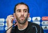 """Atletico"" dėl traumos neteko kapitono D.Godino"