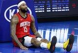 """D.Cousinsas paliks """"Rockets"""" komandą"""