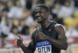 """JAV sprinteris J.Gatlinas: """"U.Boltas yra nugalimas"""""""