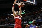 """M.Gortatas padėjo """"Wizards"""" įveikti """"Hornets"""""""