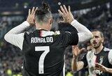"""C.Ronaldo gali tekti praleisti Italijos taurės rungtynes su """"Roma"""""""