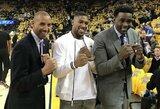 NBA legenda R.Milleris apsijuokė, tardamas A.Joshua pavardę, L.Lewisas ragina britą kovoti JAV
