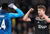 """""""Ajax"""" kapitonas M.De Ligtas: """"Svarbiausia, jog išvykoje pelnėme įvartį"""""""