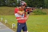 V.Strolia pasaulio vasaros biatlono čempionate pakilo iki 8-os vietos