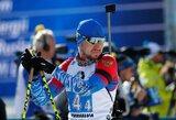 Lietuvos biatlono rinktinė aplenkta ratu, rusai po skandalo nesugebėjo laimėti medalių