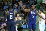 JAV trečią kartą iš eilės žais olimpiados finale