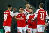 """Vokietijos taurėje - lengva """"Mainz"""" pergalė prieš """"Stuttgart"""""""