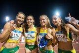 Svajonė ar realybė? Lietuvos bėgikių estafetės komanda sieks prasibrauti į olimpines žaidynes