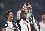 """Įvarčius štampavęs """"Juventus"""" lengvai prasibrovė į Italijos taurės ketvirtfinalį"""