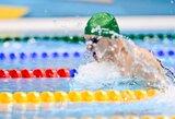 Plaukikai I.Kozlovskis ir G.Titenis pateko į Universiados pusfinalį (papildyta)