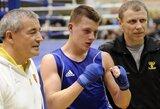 """E.Stanionis pateko į """"Gee Bee"""" bokso turnyro Suomijoje finalą"""