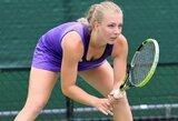 J.Eidukonytė įtvirtino Lietuvos moterų teniso rinktinės pergalę prieš islandes