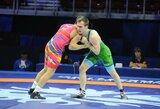 Lietuviams pasaulio imtynių čempionatas baigėsi P.Galkino pralaimėjimu paguodoje