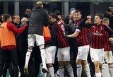 """""""AC Milan"""" nepaliko šansų """"Cagliari"""""""