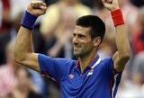 N.Djokovičius ir A.Murray'us nesunkiai žengė į 3-iąjį olimpinio teniso turnyro ratą