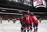 """Devintą pergalę iš eilės iškovojusi """"Capitals"""" tapo NHL lydere"""