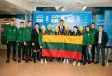 Į Lozaną išlydėta Lietuvos jaunimo olimpinė rinktinė