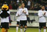 Nieko nelėmusiose rungtynėse triuškinančios Vokietijos ir Čekijos rinktinių pergalės
