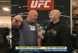 """Geriausius metus UFC istorijoje kuriantis D.White'as: """"Po Chabibo kovos kelioms savaitėms išnyksiu Conoro jachtoje"""""""