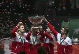 R.Federerio svajonė išsipildė: Šveicarijos vyrų teniso rinktinė – stipriausia pasaulyje