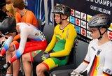 Treko dviratininkas G.Serafinas Europos jaunių čempionate užėmė 5-ą vietą