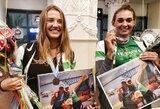 """Su bronzos medaliais sugrįžusios jaunosios irkluotojos: """"Tai beprotiškai nuostaus jausmas"""""""