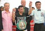 """Tailandietis pakartojo legendinio """"Rokio"""" pasiekimą ir atsidūrė per žingsnį nuo F.Mayweatherio rekordo"""