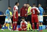 """A.Ramsey atsisveikinimas su """"Arsenal"""": patirta trauma gali anksčiau laiko užbaigti karjerą Londone"""