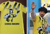 Pamatykite: V.Lenino gimtadienį šventęs Rusijos klubas rungtyniavo su diktatoriaus atvaizdu ant marškinėlių