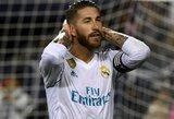 """S.Ramosas: """"Toks atsilikimas nuo """"Barcelonos"""" yra nenormalus"""""""