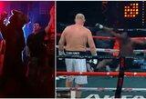 S.Charitonovo debiutas profesionalų bokse: meška pristatyme ir nokautuotas M.Tysono skriaudikas