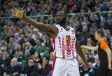 """""""Olympiacos"""" papildė Belgrade nežibėjęs krepšininkas"""