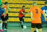 Futsal A lygos sezono starte – suklupę praėjusio sezono čempionai ir raudonų kortelių dalybos