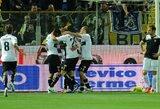 """Be M.Stankevičiaus žaidęs """"Lazio"""" klubas išvykoje nusileido """"Parma"""" ekipai"""